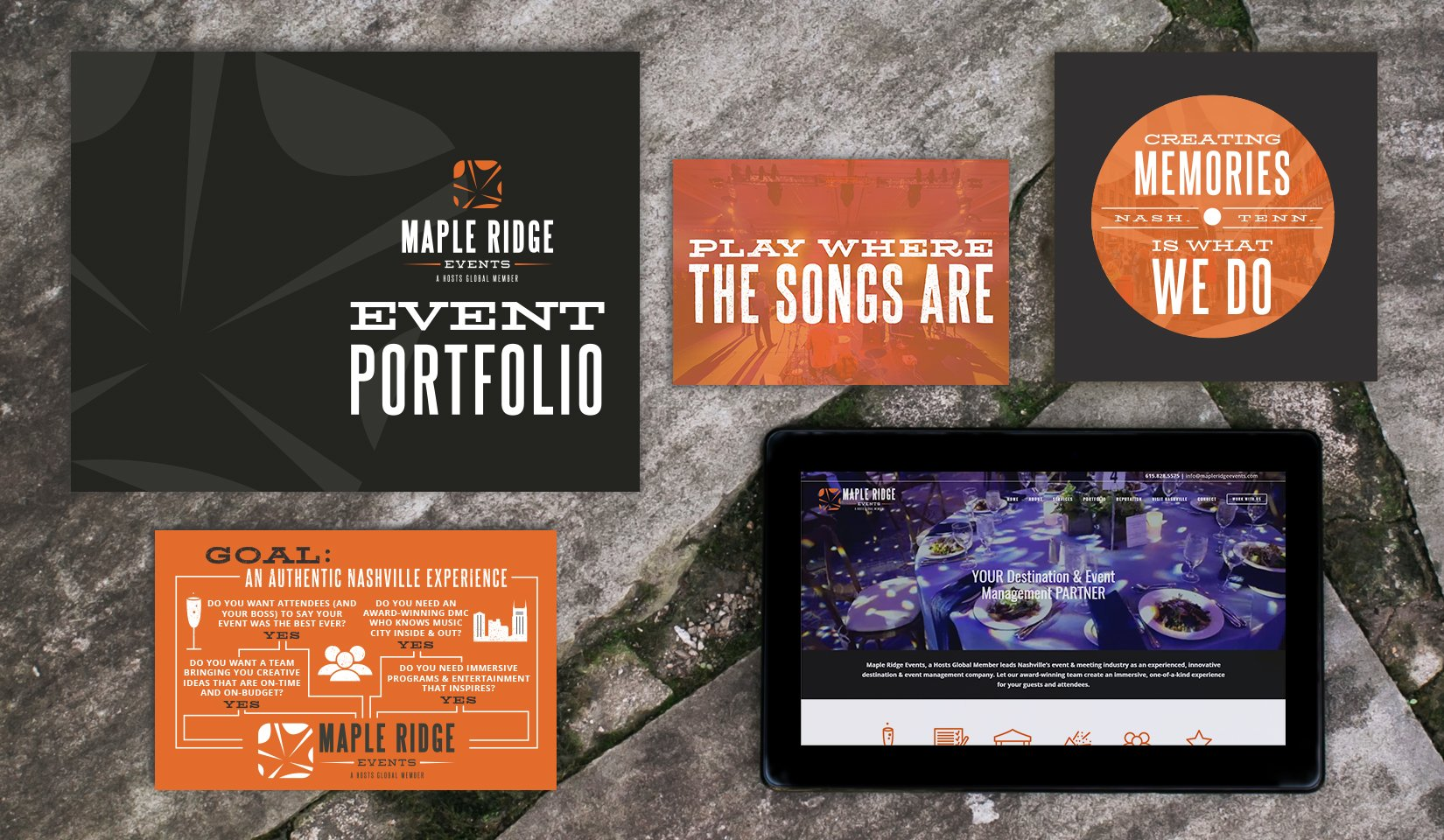 Maple Ridge Events Client Portfolio