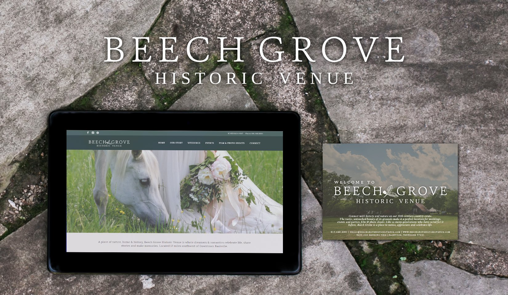 Beech Grove Historic Venue Path and Compass Client Portfolio