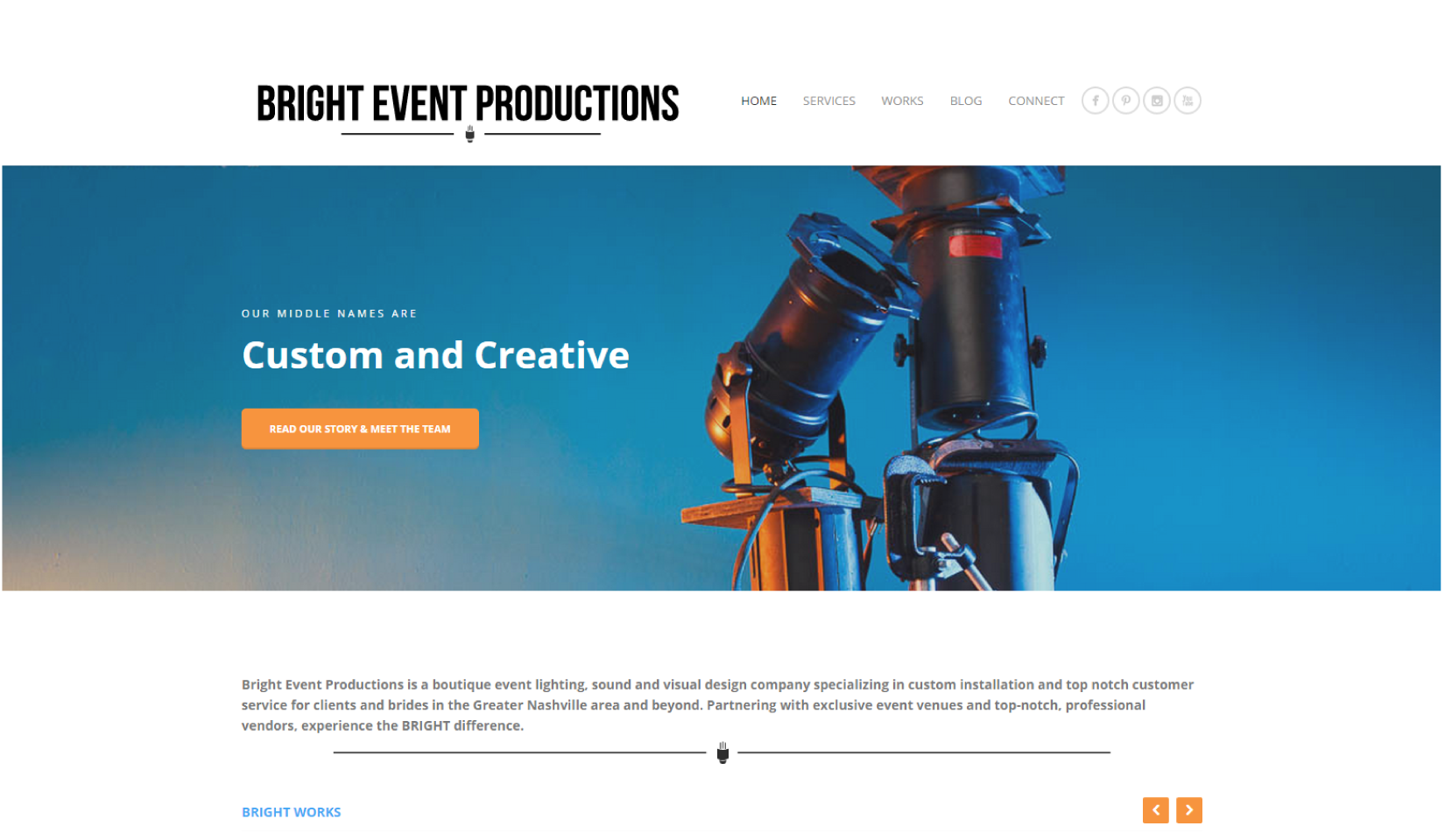 Bright Event Productions Path and Compass Client Portfolio