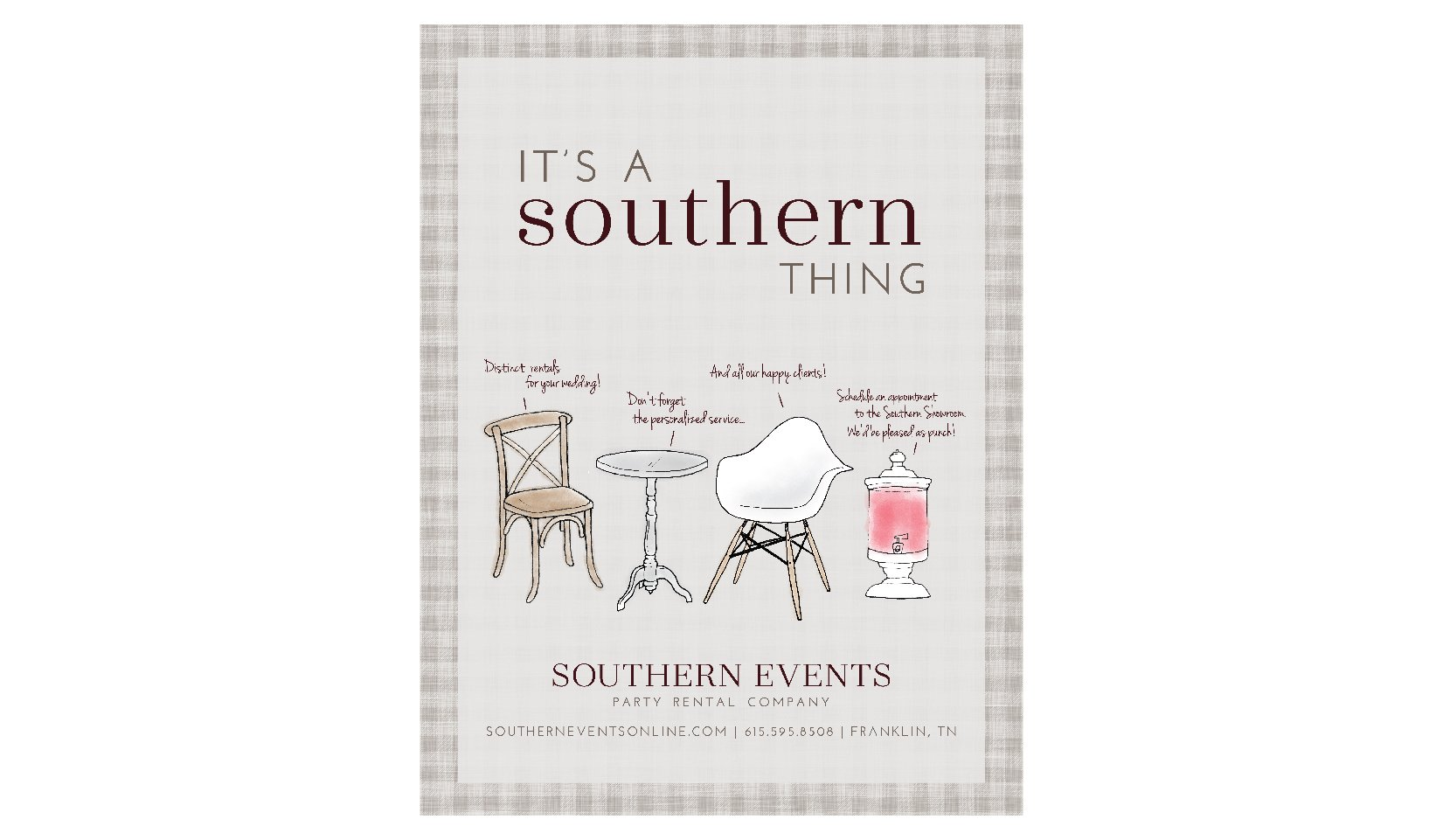 Southern Events Path and Compass Client Portfolio