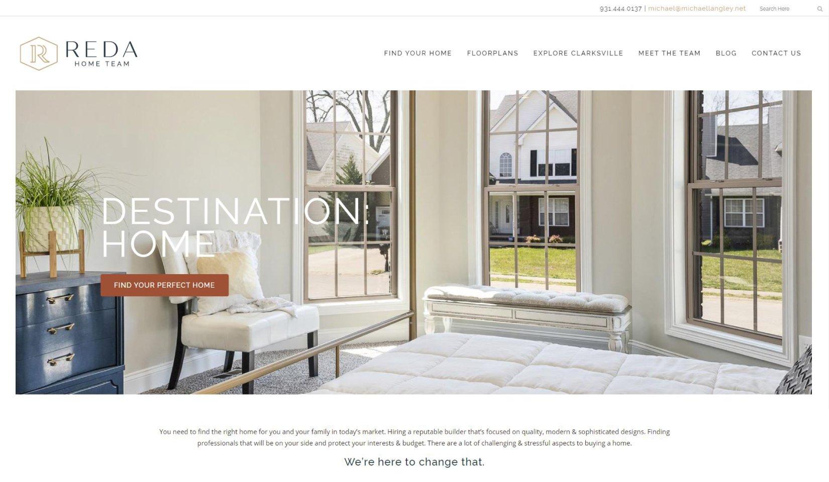 Client Portfolio | Reda Home Team Website
