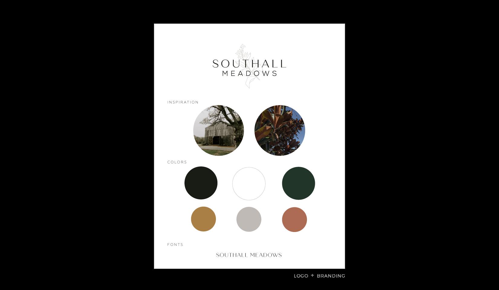 Client Portfolio | Southall Meadows Branding + Logo