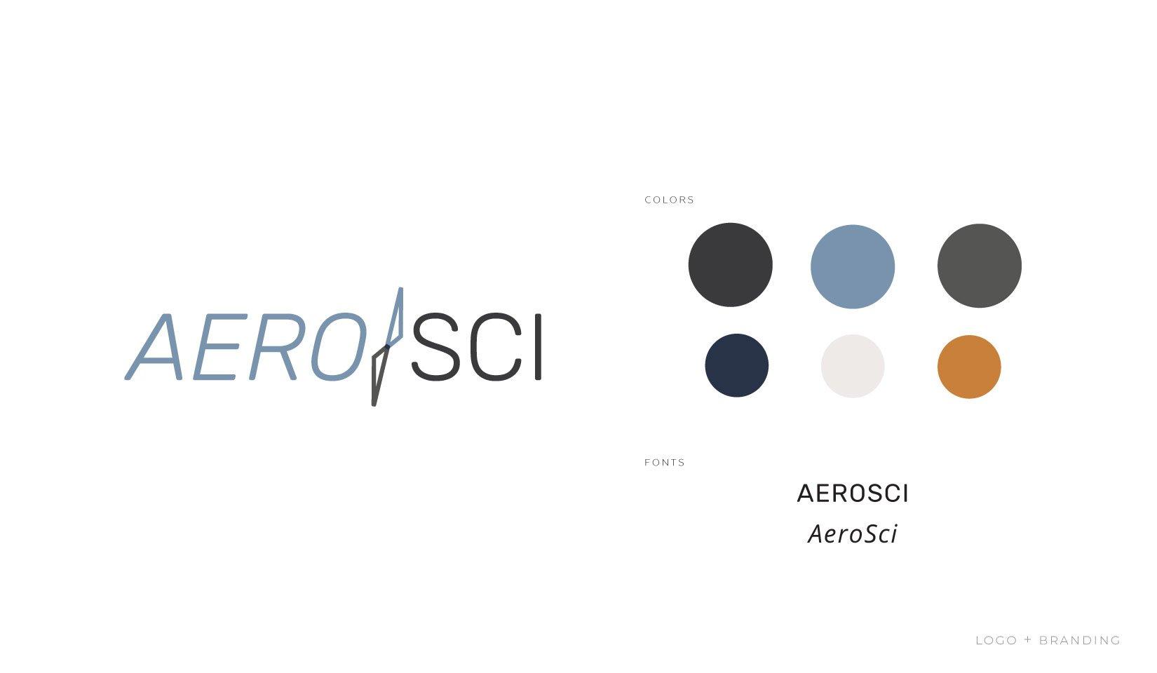 Client Portfolio | AeroSci Logo & Branding