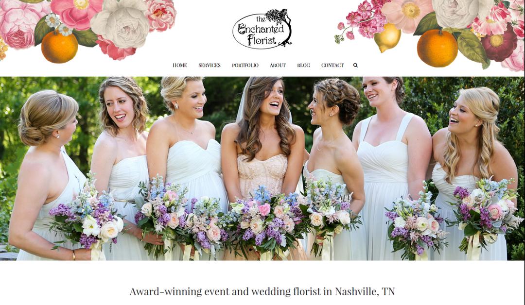enchanted florist website
